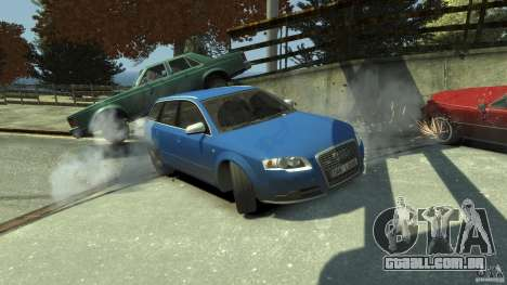 Audi S4 Avant para GTA 4 motor