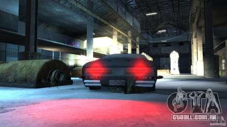 Apocalyptic Mustang Concept (Beta) para GTA 4 vista de volta