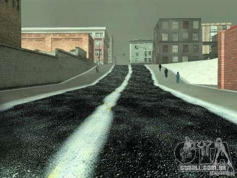 Neve v 2.0 para GTA San Andreas décima primeira imagem de tela