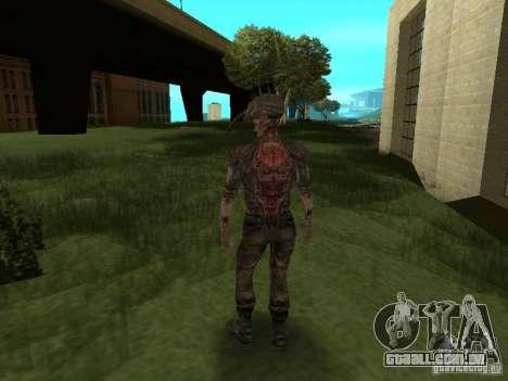 Snork de S.T.A.L.K.E. r para GTA San Andreas quinto tela