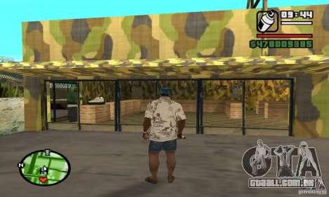 Loja de armas em Grove para GTA San Andreas sexta tela