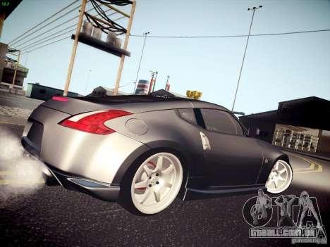 Nissan 370Z Fatlace para GTA San Andreas esquerda vista