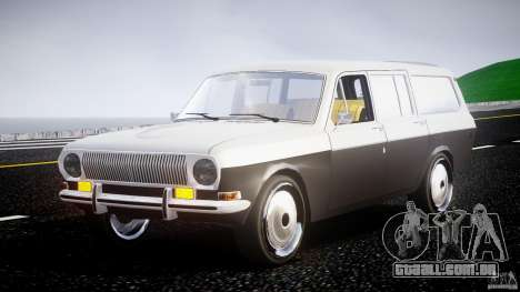 GAZ 24-12-1986-1994 estoque Edition v 2.2 para GTA 4 vista de volta