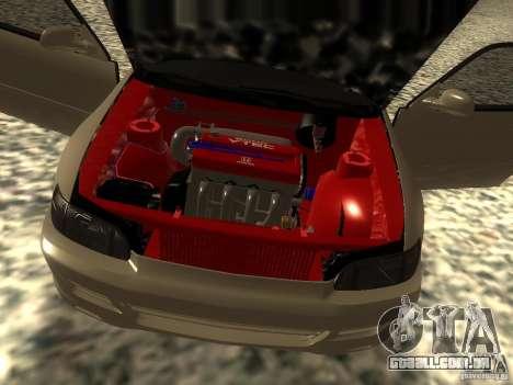 Honda Civic EG6 JDM para GTA San Andreas vista traseira