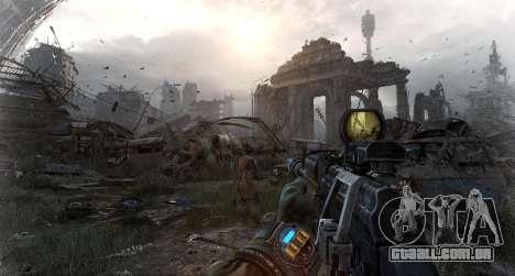 Metro Last Light AK 47 para GTA San Andreas terceira tela