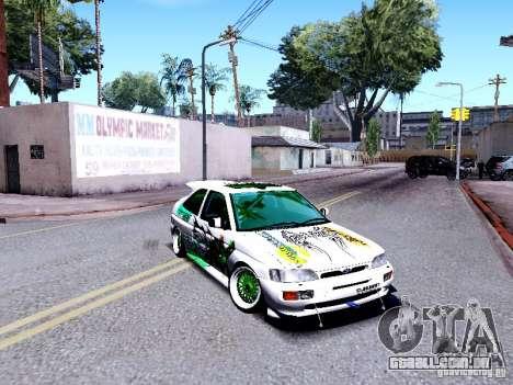 Ford Escort RS 92 Hella para GTA San Andreas