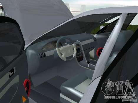 Mitsubishi Legnum para GTA San Andreas vista direita