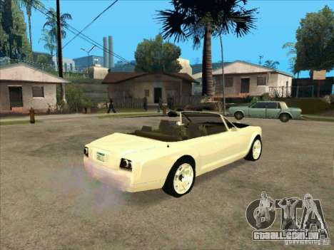 GTA 4 TBOGT Super Drop Diamond para GTA San Andreas vista direita