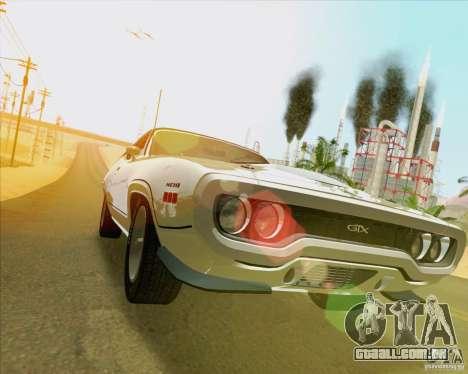 New Playable ENB Series para GTA San Andreas oitavo tela