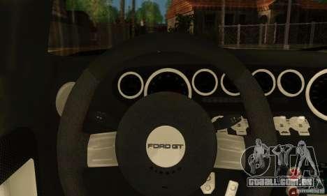 Ford GTX1 Roadster V1.0 para GTA San Andreas traseira esquerda vista