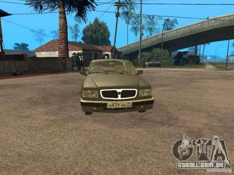 GAZ 3110 v 2 para GTA San Andreas traseira esquerda vista