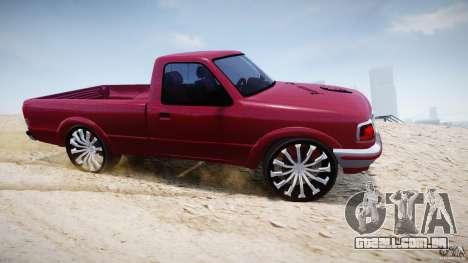 Ford Ranger para GTA 4 vista interior