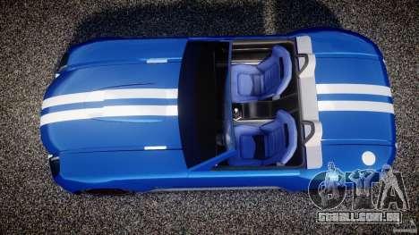 Ford Shelby Cobra Concept para GTA 4 vista direita