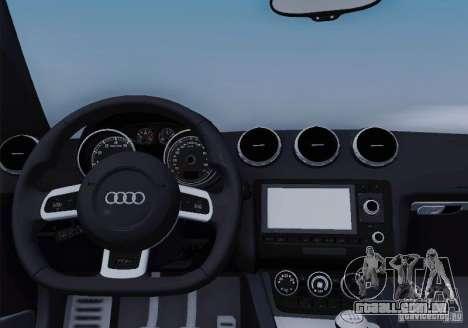 Audi TT-RS Coupe para o motor de GTA San Andreas
