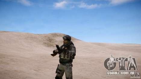 Capitão preço do COD MW3 para GTA 4 quinto tela