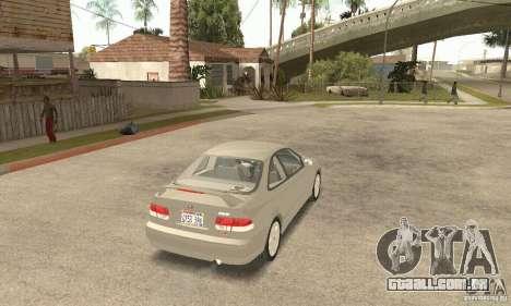 Honda Civic 1998 para GTA San Andreas esquerda vista