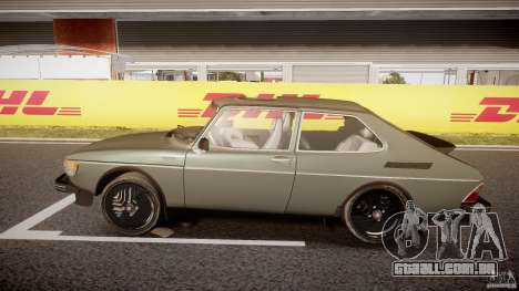 SAAB 99 Turbo 1978 para GTA 4 esquerda vista