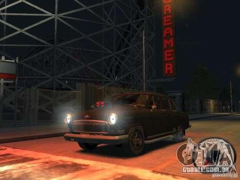 Gaz Volga de 21 v8 para GTA 4 vista de volta