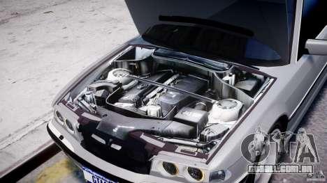 BMW 750i v1.5 para GTA 4 vista inferior
