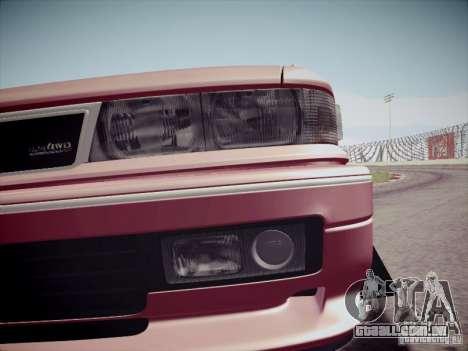 Mitsubishi Galant 1992 JDM para GTA San Andreas vista interior