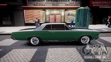 Pontiac GTO 1965 v3.0 para GTA 4 vista lateral