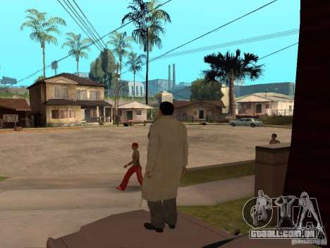 Joe Barbaro de Mafia 2 para GTA San Andreas terceira tela