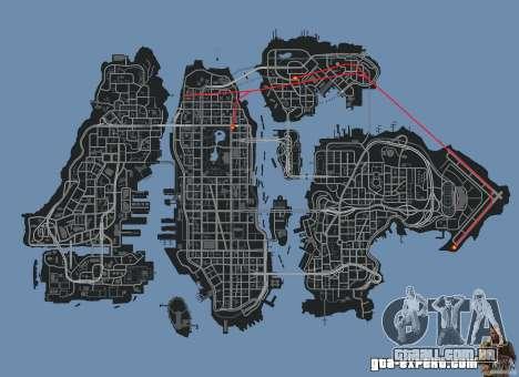 New Map Mod para GTA 4 sétima tela
