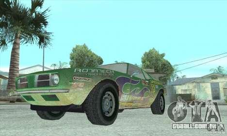 Speedevil de FlatOut para GTA San Andreas vista interior