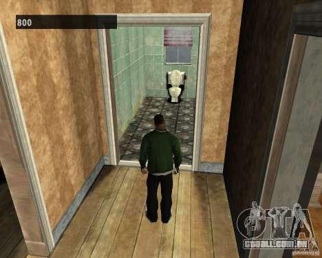 Interiores escondidos 3 para GTA San Andreas por diante tela