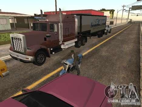 Carros com trailers para GTA San Andreas segunda tela