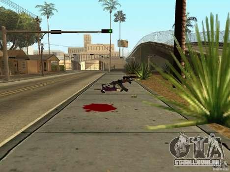 Armas nacional-versão 1.5 para GTA San Andreas sexta tela