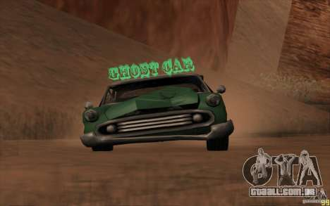 Criaturas místicas para GTA San Andreas por diante tela
