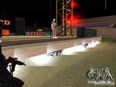 Concerto da AK-47 para GTA San Andreas décimo tela