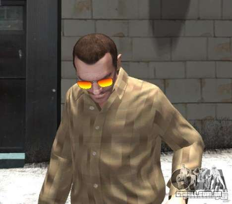 Sunnyboy Sunglasses para GTA 4 segundo screenshot