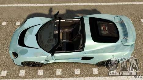 Lotus Exige S 2012 para GTA 4 vista direita