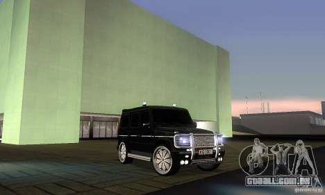 Mercedes Benz G500 ART FBI para GTA San Andreas