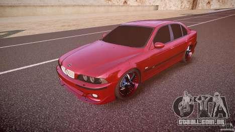 BMW M5 E39 Hamann [Beta] para GTA 4