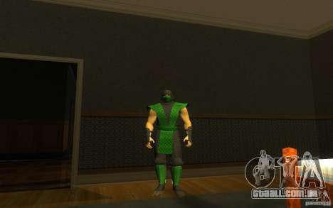 Retro Reptile mk para GTA San Andreas segunda tela