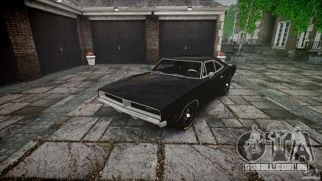 Dodge Charger RT 1969 para GTA 4 vista lateral