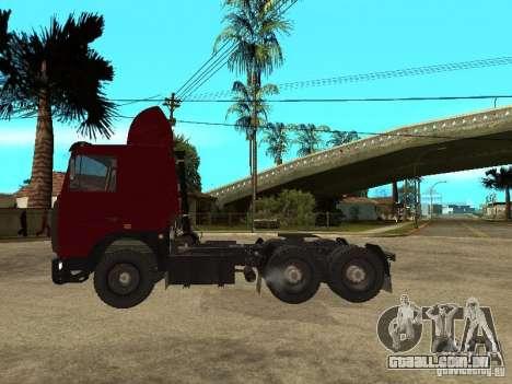 MAZ 642208 para GTA San Andreas esquerda vista