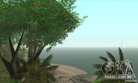 Ilha tropical para GTA San Andreas