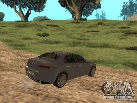 Alfa Romeo 159Ti para GTA San Andreas vista direita