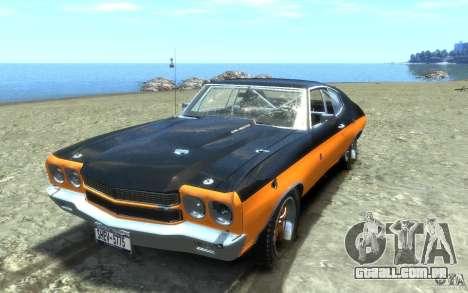 Chevrolet Chevelle SS 1970 para GTA 4 rodas