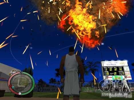RAIN OF BOXES para GTA San Andreas oitavo tela