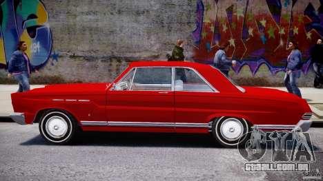 Ford Mercury Comet 1965 [Final] para GTA 4 vista lateral