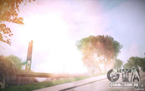 Lensflare 1.1 Final para GTA San Andreas terceira tela