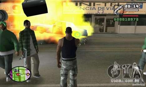 Nova vista para GTA San Andreas oitavo tela