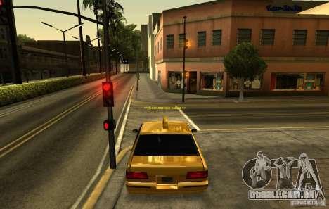 ENB SA: MP para computadores portáteis de médio  para GTA San Andreas terceira tela