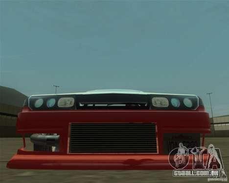 Nissan Cefiro A31 (D1GP) para GTA San Andreas vista traseira