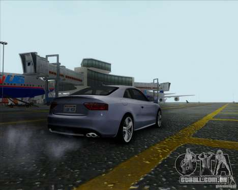 Audi S5 para GTA San Andreas esquerda vista